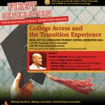 College Access and the Transition Experience